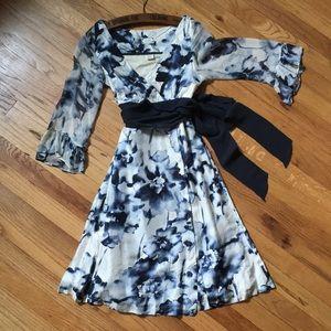 Anthropologie Silk Viola Dress